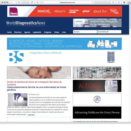 Diagnostics News